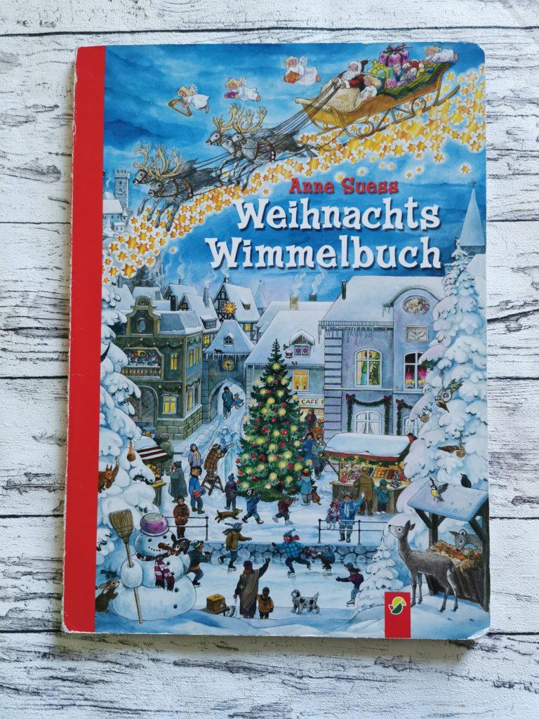 Das Cover des Weihnachts Wimmelbuch von Anne Süss