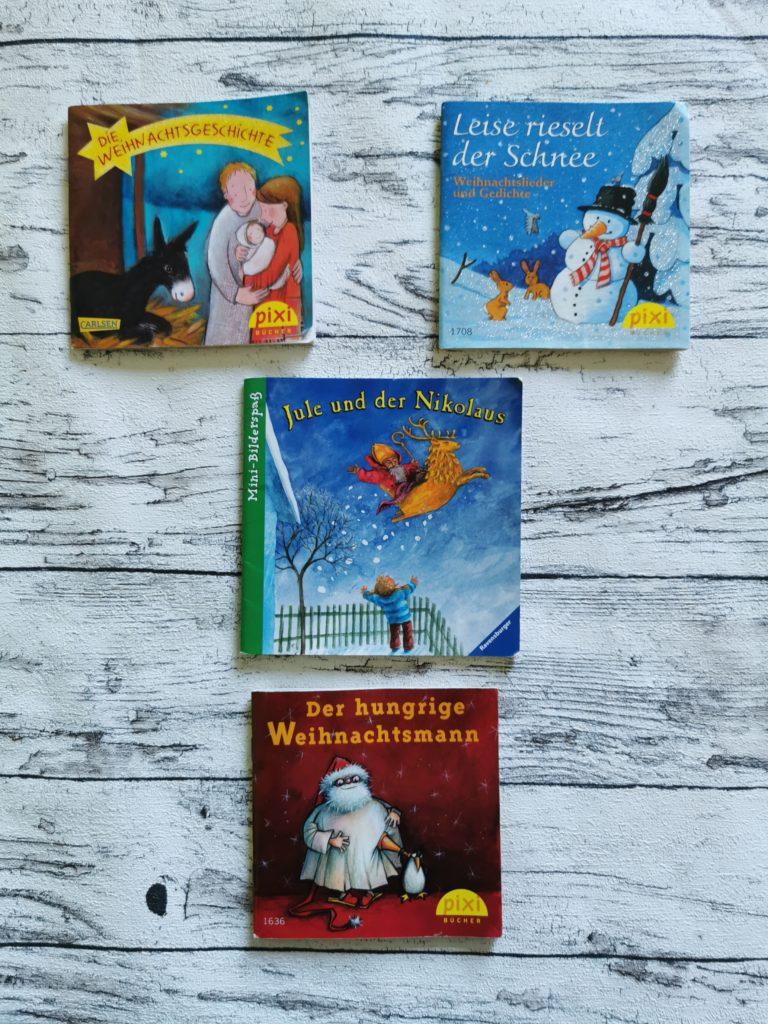 4 Pixi Bücher zum Thema Weihnachten