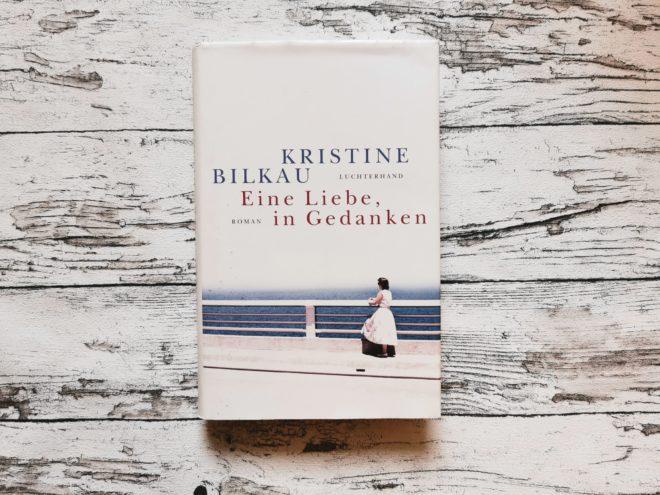 """Buchcover """"Eine Liebe, in Gedanken"""""""