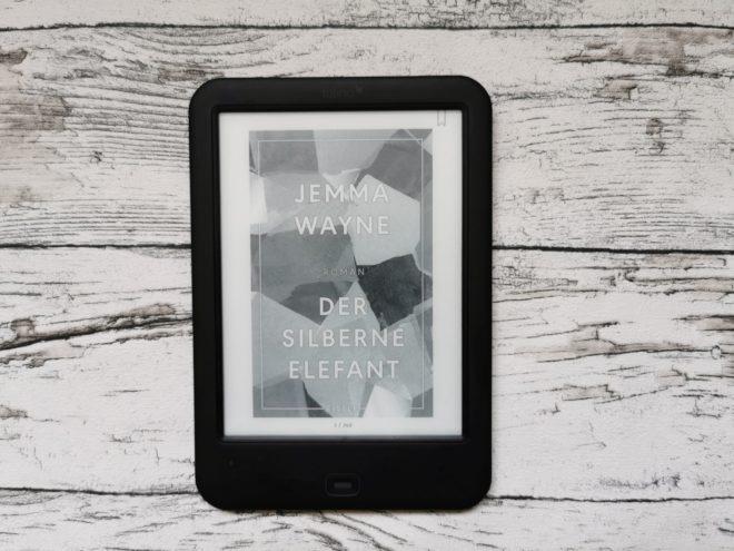 """Buchcover """"Der silberne Elefant"""" von Jemma Wayne"""