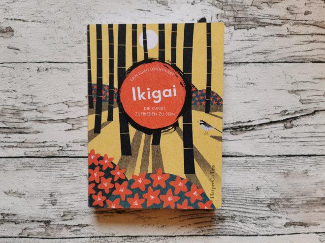 Buchcover Ikigai Die Kunst, zufrieden zu sein
