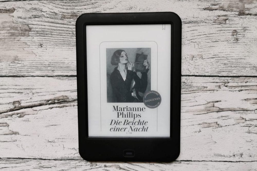 """eBook-Cover von """"Die Beichte einer Nacht"""""""