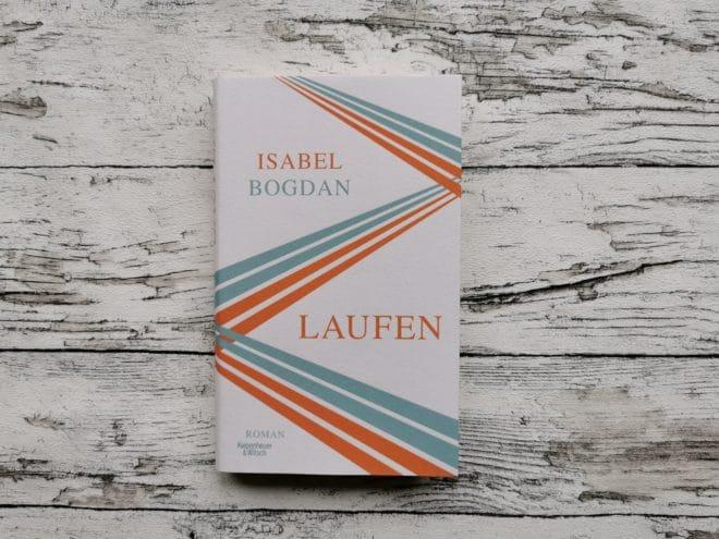 """Buchcover """"Laufen"""" von Isabel Bogdan"""
