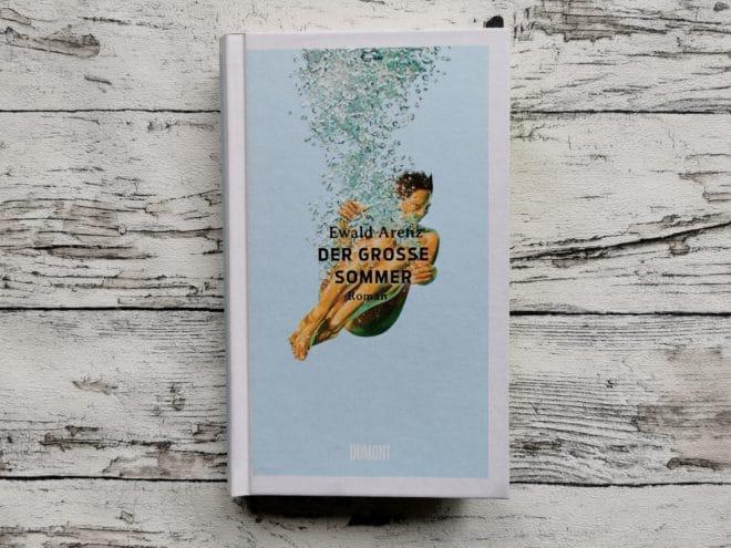 Buchcover Der große Sommer von Ewald Arenz