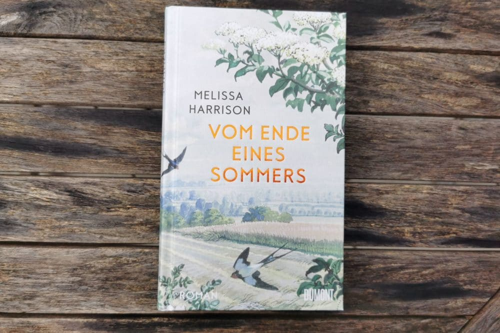 """Buchcover des Buchs """"Vom Ende eines Sommers"""" von Meslissa Harrison"""