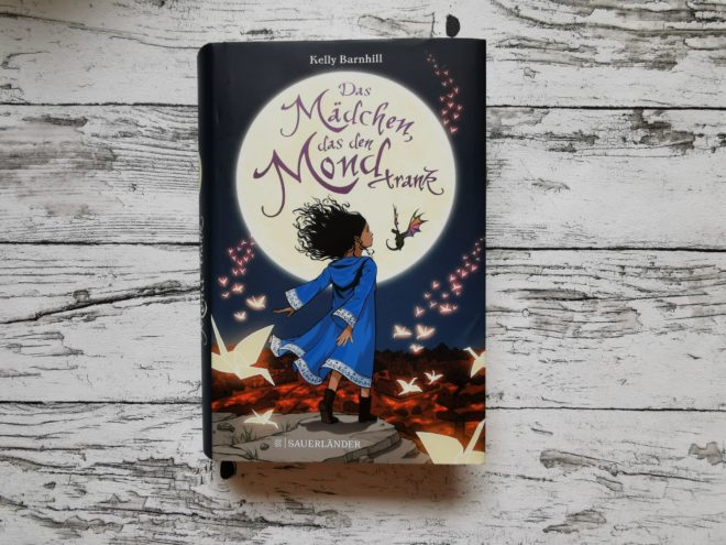 """Buchcover """"Das Mädchen, das den Mond trank"""""""