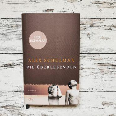 """Buchcover """"Die Überlebenden"""" von Alex Schulman"""