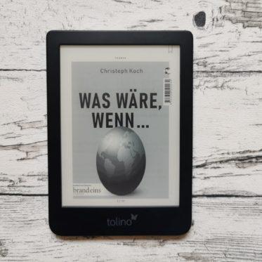 """Buchcover """"Was wäre, wenn..."""" von Christoph Koch"""