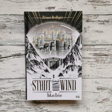 Buchcover Stadt ohne Wind Arkas Reise von Eléonore Devillepoix