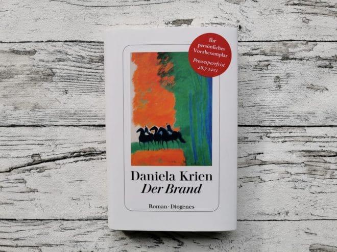 """Das Buchcover von """"Der Brand"""" von Daniela Krien"""