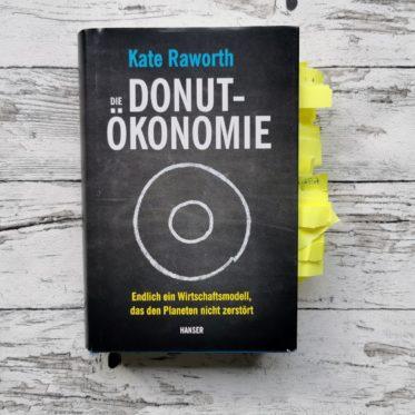 """Das Buchcover von """"Die Donut-Ökonomie"""" von Kate Raworth"""